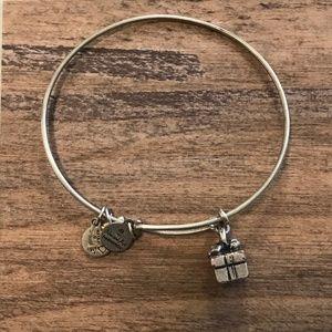 Alex & Ani Silver Gift Box Present Charm Bracelet